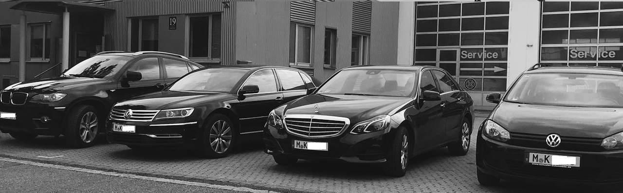 chauffeurdienst in münchen